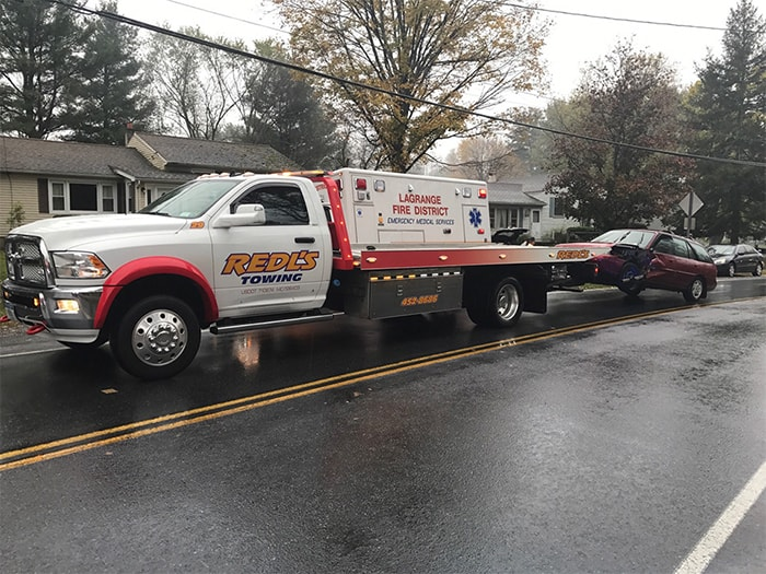 Home | Redl's Towing | Roadside Service | Accident Recovery